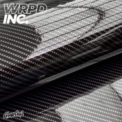 Carbon wrapvinyl gloss <br> Breedte 150 cm WRPD INC.