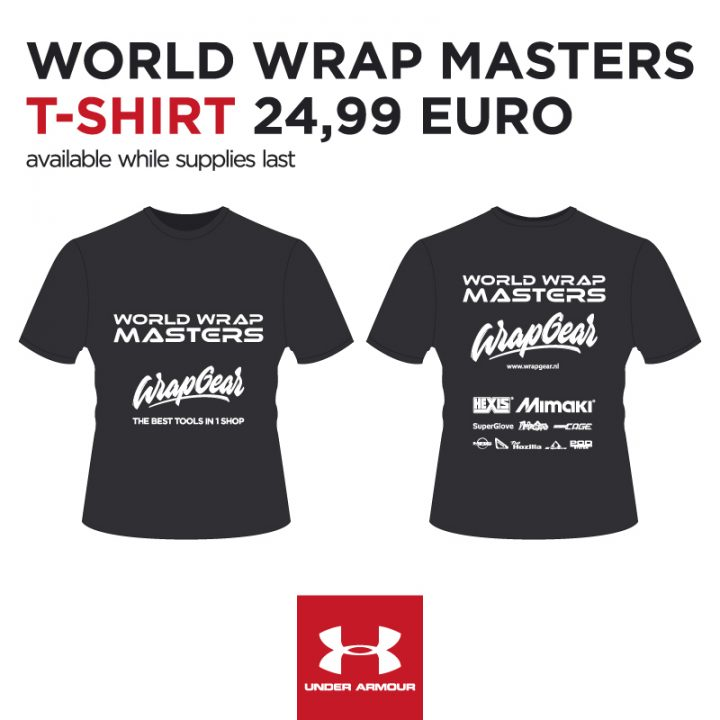 Official T-shirt <br> World Wrap Masters