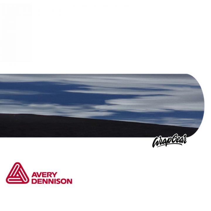 Avery SWF Chrome Delete <br> Zwart GLANS Breedte 152 cm
