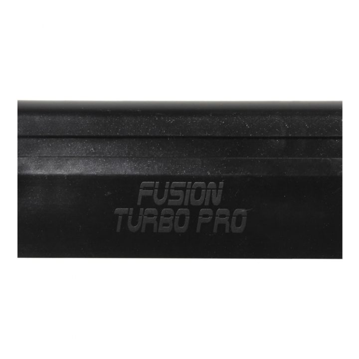 Black Fusion Turbo Pro<br> 4 inch / 10,5 cm.