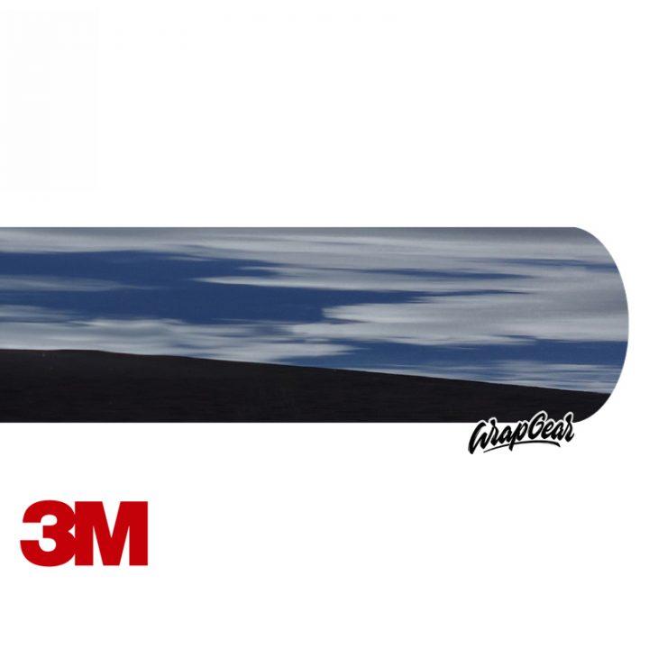 3M 2080 Chrome Delete <br>Zwart GLANS Breedte 152 cm