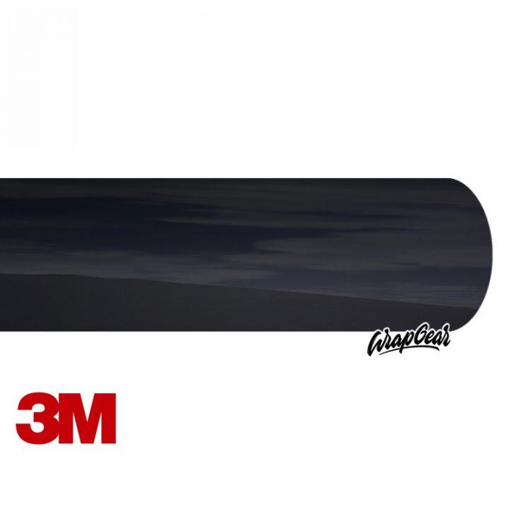 3M 2080 Chrome Delete <br>Zwart SATIJN Breedte 152 cm