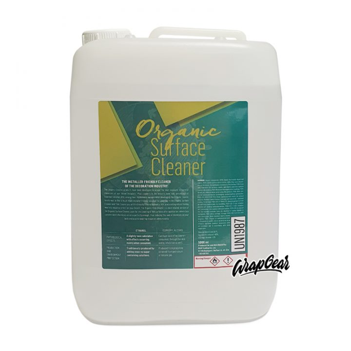 Organic Surface Cleaner <br>5 Liter