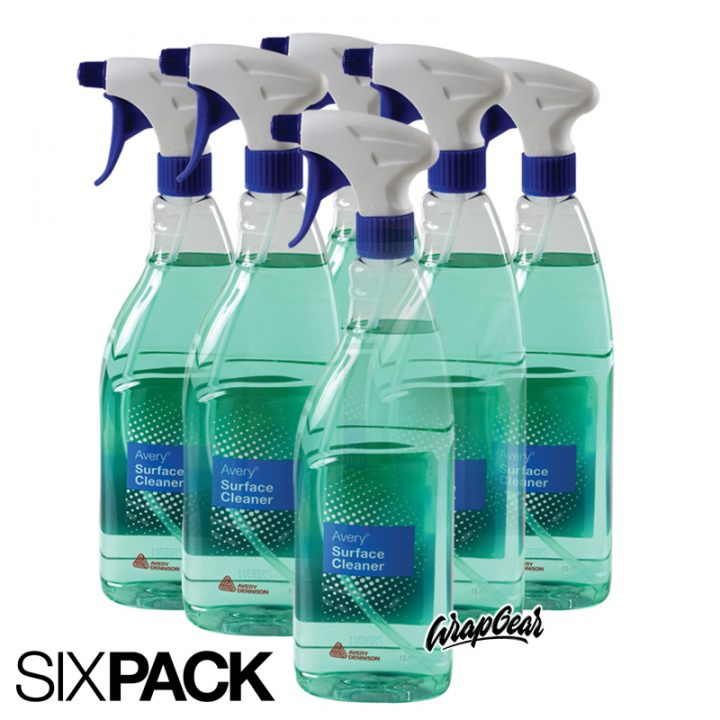 Avery® Surface Cleaner Sixpack 6 x 1 Liter