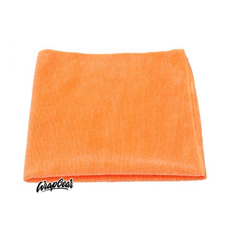 Ontvettingsdoek oranje
